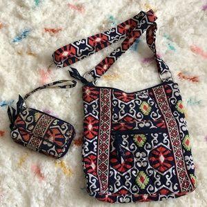 Vera Bradley Crossbody Bag & Matching Wallet